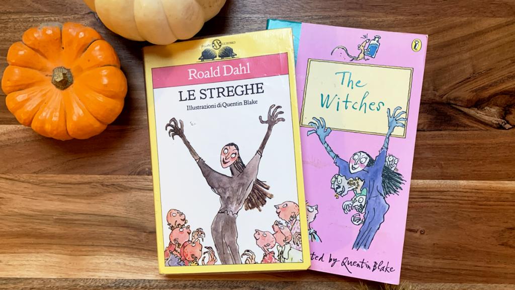 Versione Italiana e Inglese de Le Streghe di Roald Dahl