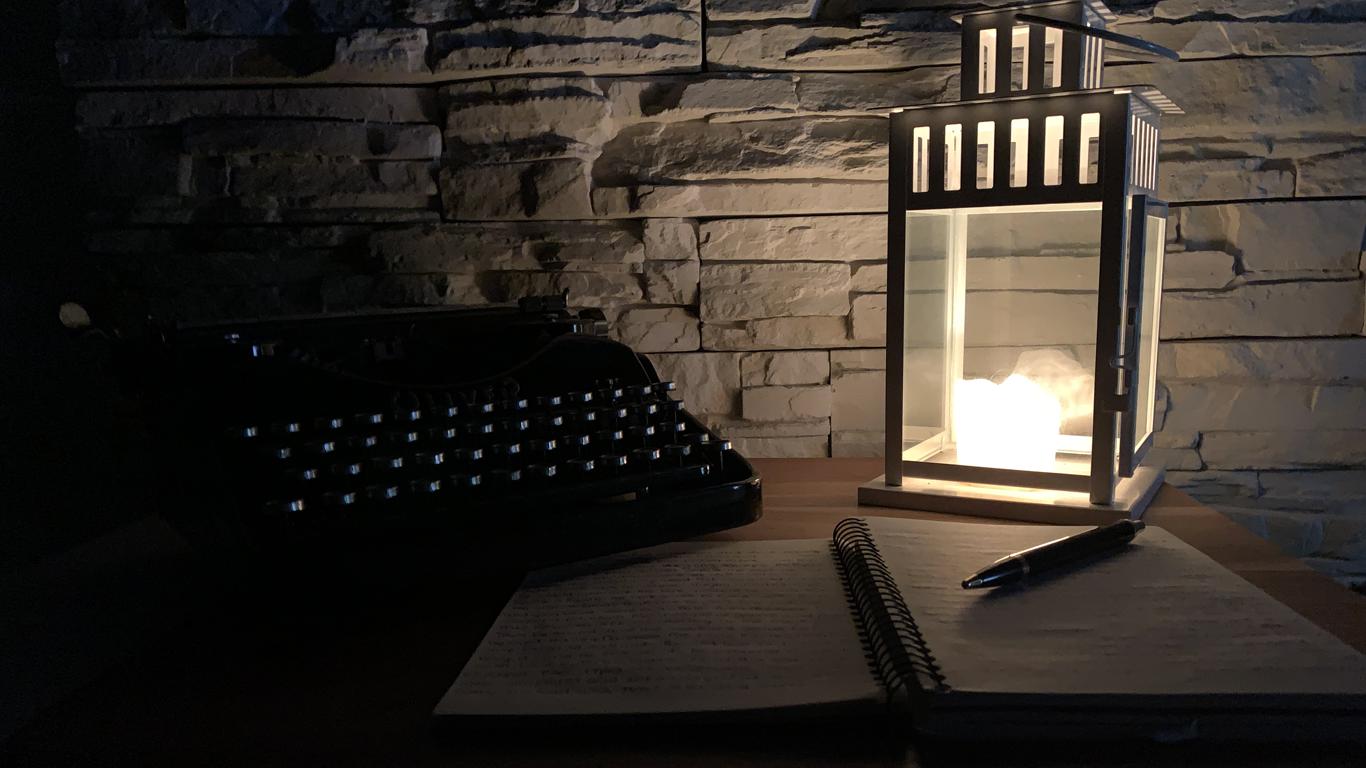 a Writer's setting