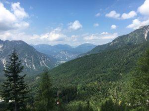 Vista dal Rifugio Pellarini