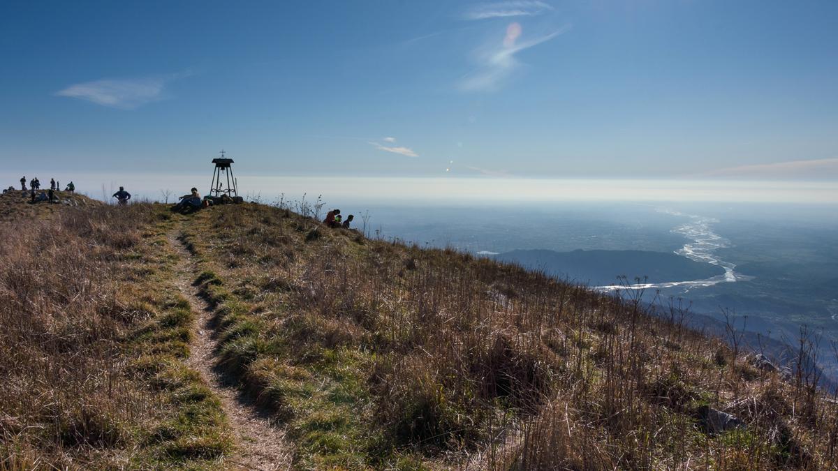 Panorama dal monte Cuar