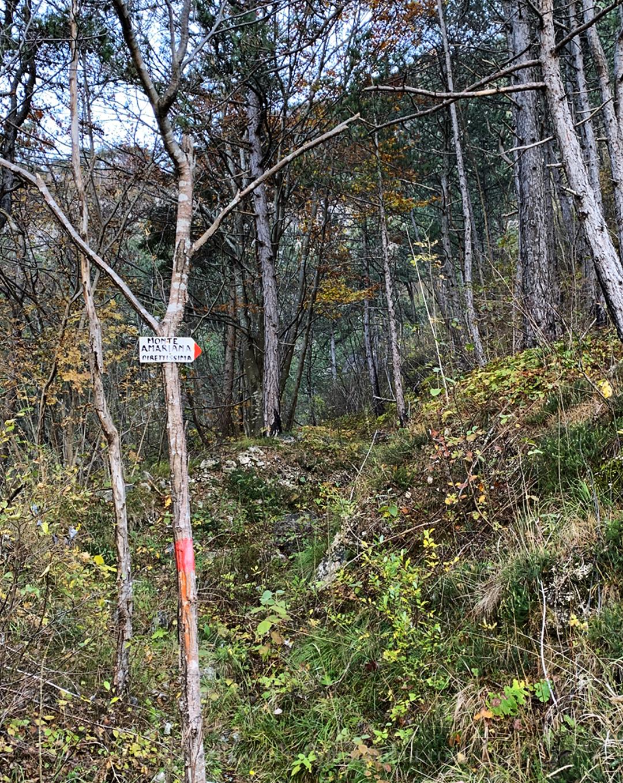 Inizio Sentiero Sant Ilario