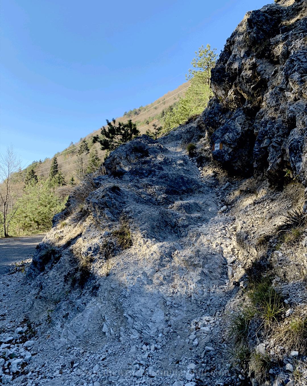 Partenza Sentiero CAI 816 - Monte Cuar