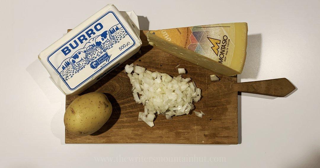 Frico: Italian Recipe from Friuli-Venezia Giulia Ingredients