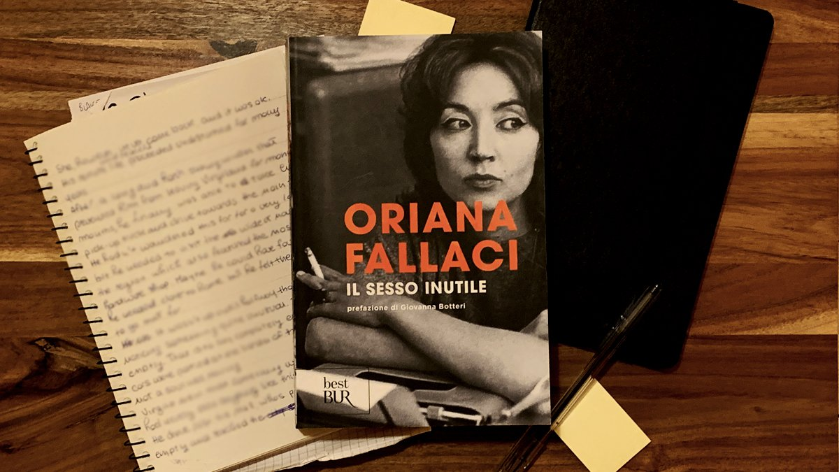 The useless sex by Oriana Fallaci