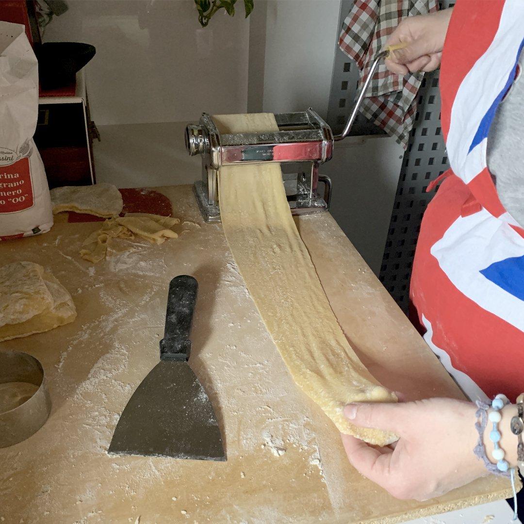 Italian Ravioli with Montasio Cheese, Mushrooms and Sauris Speck