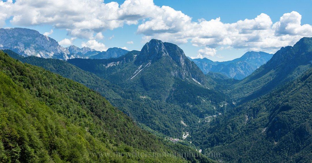 Panorama da Rifugio Grauzaria